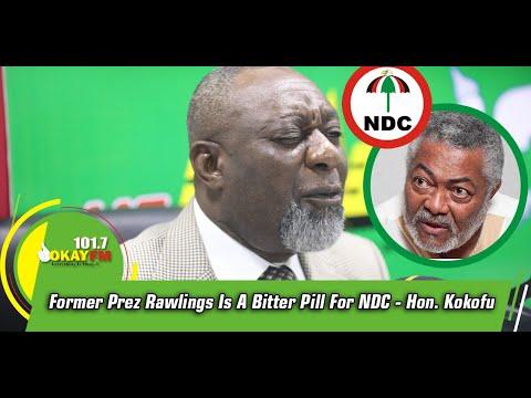 Former Prez Rawlings Is A Bitter Pill For NDC- Hon. Kokofu