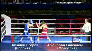 Василий Егоров выиграл золото чемпионата мира по боксу среди юниоров