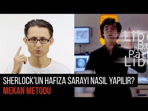Sherlock'un hafıza sarayı nasıl yapılır? Mekan Metodu