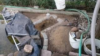 Heikos Gartenteich Bachlauf Wasserfall Teichfilter Selber Bauen Teil 2