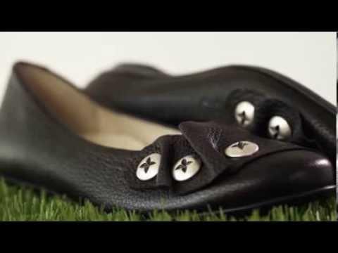 tessamino Natural Feet Damenballerina Mao aus echtem Hirschleder