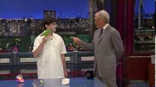 Kili Senegal Parrot on David Letterman Stupid Pet Tricks