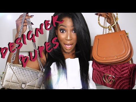 THE BEST DESIGNER PURSE DUPES!! | Whitney Wiley