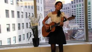 "Amy Vachal performs ""Broke Into Words"""
