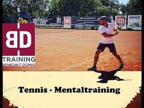Mentaltraining - Die SCHWÄCHEN beim EINSPIELEN TRAINIEREN  I Tennis deutsch