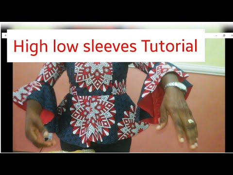 High - low sleeves