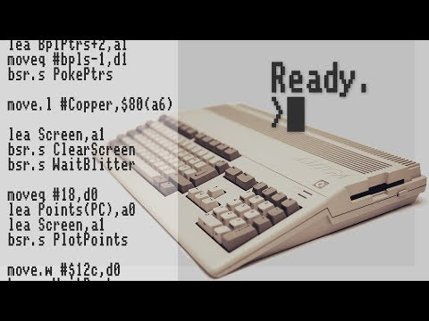 Amiga Hardware Programming (Scoopex) Use the Assembler and wait for left click