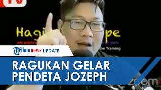 Jozeph Paul Zhang Disebut Punya Gelar Pendeta, PGI Meragukannya dan Minta Tak Terprovokasi