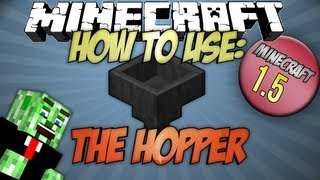How to use the Hopper Minecraft