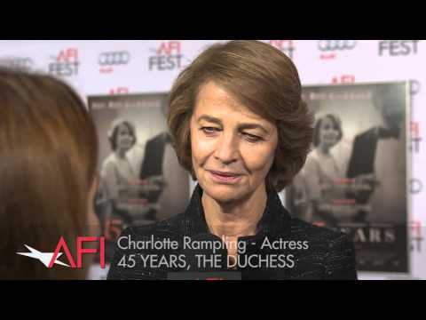 Video trailer för Charlotte Rampling on the Red Carpet at AFI FEST presented by Audi
