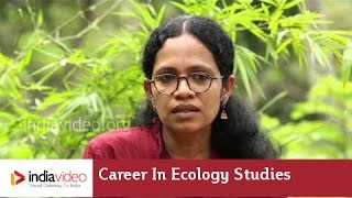 A carrer in Ecology studies