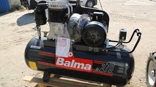 Компрессор Balma NS11\50 CM3 от компании ПКФ «Электромотор» - видео