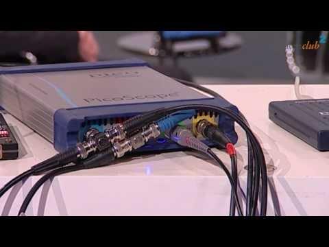 PicoScope Oszilloskop via USB am Computer