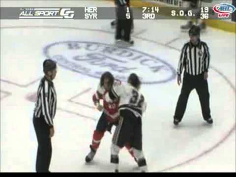 Alex Berry vs Pierre-Cedric Labrie
