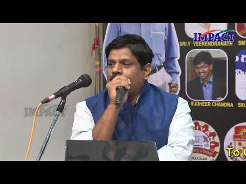 Crack Civil Exams | Krishna Pradeep | TELUGU IMPACT Srikakulam 2018