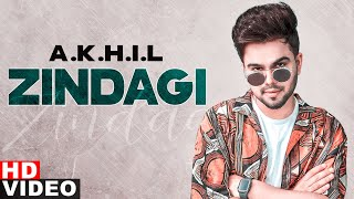 Zindagi (VO Video) | Akhil | Latest Punjabi Songs 2020 | Speed Records