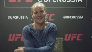 """UFC Санкт-Петербург. Валентина Шевченко: """"Я горжусь своей сестрой""""."""