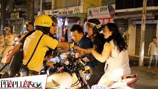 PLO - Cảnh sát TP.HCM xử lý nhiều thanh niên cổ vũ quá khích