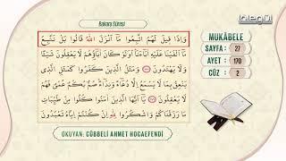 Cübbeli Ahmet Hocaefendi ile Mukâbele 2. Cüz