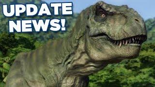 NEW UPDATE NEWS!!! - Jurassic World Evolution