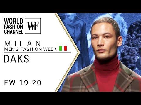 Daks Fall-winter 19-20 Milan men's fashion week