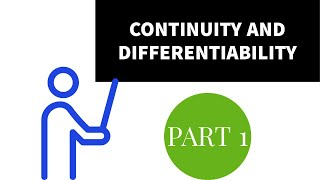 CONTINUITY AND DIFFERENTIABILITY PART 1 CONTINUITY Prepared by BINOY XAVIER MSc,BEd,SET
