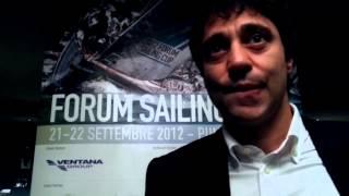 Youtube: Intervista a Gianluca Spitella, Forum Sailing Cup 2012