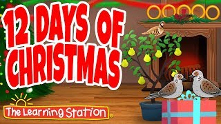 12 Days of Christmas - Christmas Songs for Children - Christmas Dance Song by The Learning Station