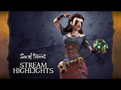 Sea of Thieves Weekly Stream Highlights: The Cursed Rogue