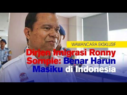Wawancara Eksklusif | Dirjen Imigrasi Ronny Sompie: Benar Harun Masiku di Indonesia