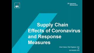 Canadian Construction Association – Coronavirus and supply chain implications in construction