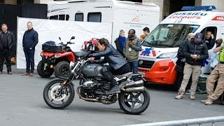 Shooting in Paris Tom CRUISE. Misssion Impossible 6