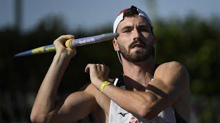 Albi 2020 : Lukas Moutarde avec 75,71 m au lancer du javelot