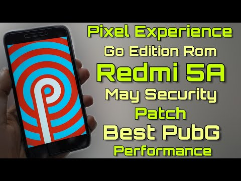 Redmi 4A/5A | Pixel Experience | Android Pie | Stable | Install