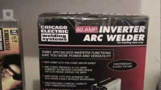 ultimate welders kit 80 amp inverter arc welder