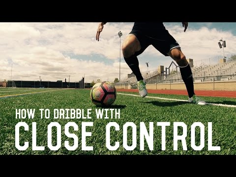 How To Dribble Like Messi | Close Control Dribbling | Fundamental Dribbling Technique Tutorial