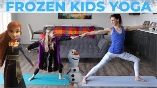 Kids Yoga Frozen 2 / Family Yoga Led By Princess Anna (ages 3-8)