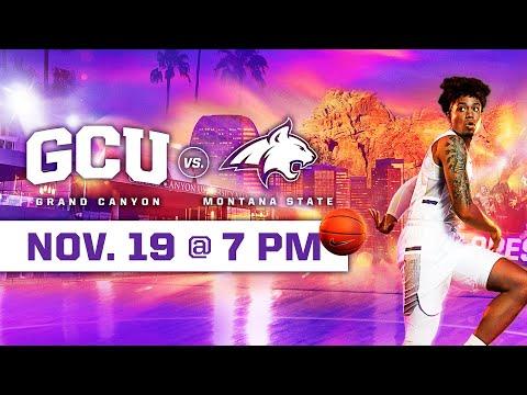 GCU Men's Basketball vs Montana State November 19, 2019