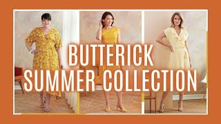 Butterick Summer Sewing Pattern Collection 2019  |  1st Impression Review