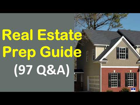 Real Estate Prep Guide - 97 Questions & Answers with Explains ...