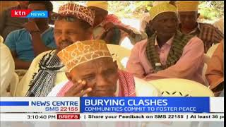 Three warring clans in Garissa reconcile and commit to fostering peace