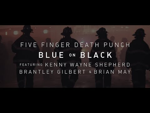 Five Finger Death Punch Blue On Black Feat Kenny Wayne Shepherd Brantley Gilbert  Brian May
