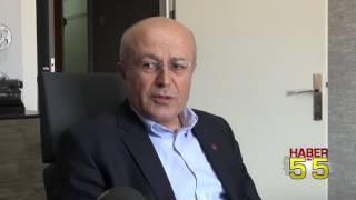 EĞİTİM-SEN'DEN HABER55 TV'YE ZİYARET