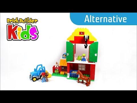 Vidéo LEGO Duplo 10525 : La grande ferme