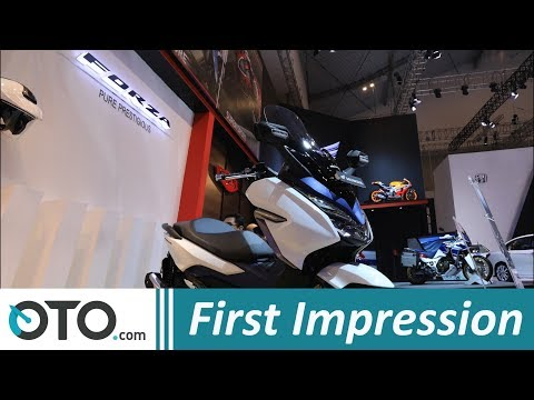 Honda Forza 250 | First Impression | GIIAS 2018 | OTO.com