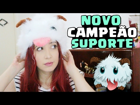 NOVO CAMPEÃO SUPORTE e REWORK DOS TANQUES - League of Legends