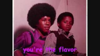 jackson 5 - love comes in different flavors (with lyrics)