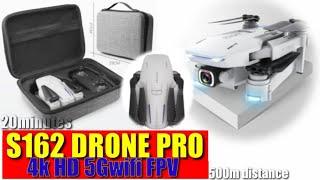 2020 NEW S162 DRONE PRO GPS 4K HD 1080P 5G WIFI FPV TIME 50 DISTANCE|DRONE GADGET
