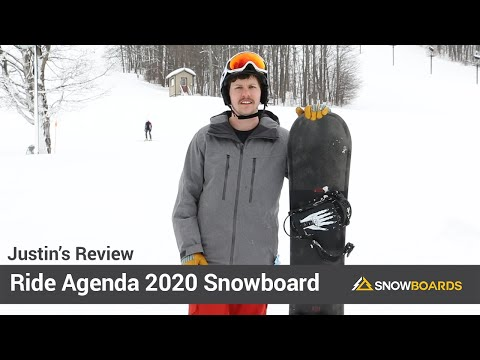 Video: Ride Agenda Snowboard 2020 10 40