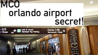 Orlando Airport SECRET!!!